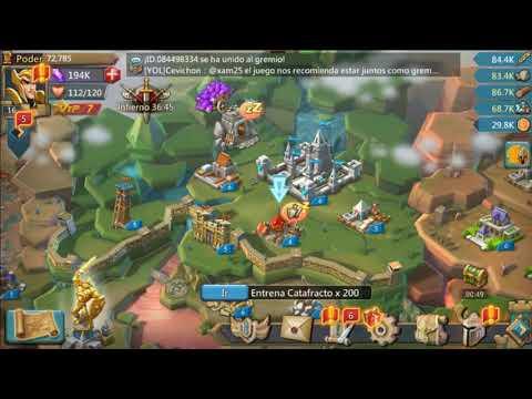 Lords Mobile Bajalo gratis y unete al clan de los gatos