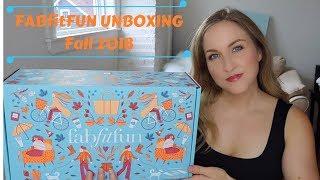 FABfitFUN Unboxing | Fall 2018