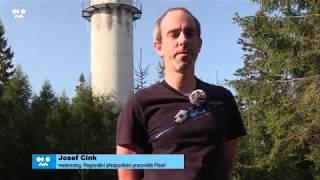 Meteorologický radar ČHMÚ v Brdech