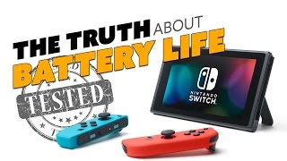 Nintendo Switch BATTERY TESTED (and how to get the most out of it)! - The Know Game News