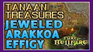 Tanaan Treasures - How to Get Jeweled Arakkoa Effigy