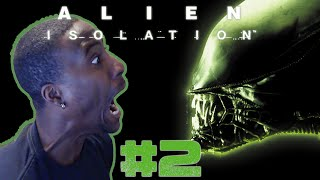 MY LOUDEST SCREAM YET! Alien: Isolation - Gameplay Walkthrough - Part 2