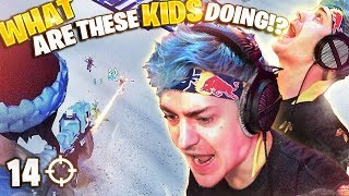 OUTPLAYING KIDS IN SOLOS! 14 ELIMS!