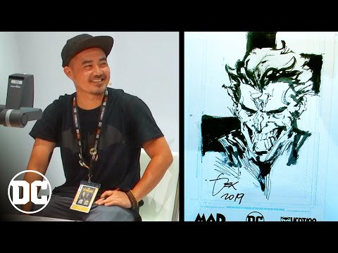How to Draw Joker with Dexter Soy   DC Comics Art Academy