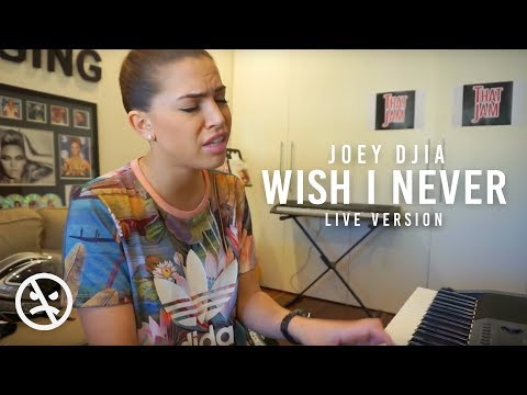 JOEY DJIA - Wish I Never (Raw Piano/song writing)