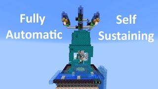 The Treeminator - Fastest Self Sustaining Treefarm for 1.16
