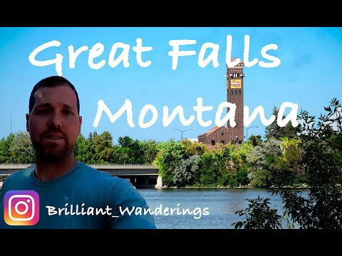 Where Is Great Falls, Montana USA