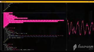 Particula (Major Lazer) Instrumental created with Sonic Pi