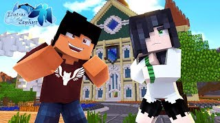 """Minecraft Elytras of Zephyr -""""WELCOME TO ZEPHYR ACADEMY!"""" S1 #1 (Minecraft Roleplay)"""
