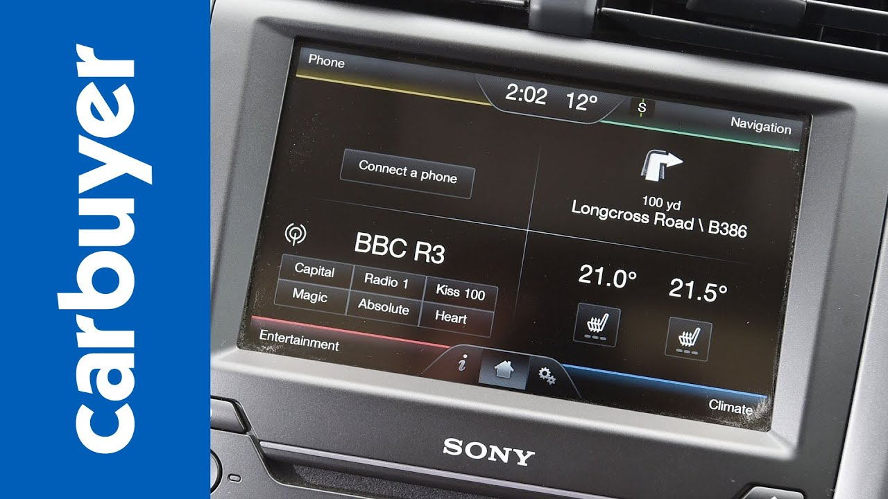 Ford Sync 2 Review In Car Tech Supertest