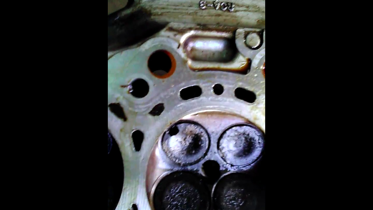 how to fix a burnt valve