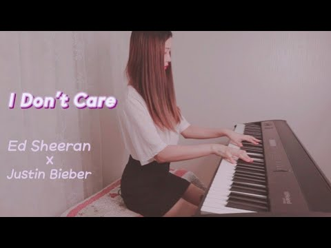 I Don't Care - Ed sheeran , Justin Bieber ● piano cover by . dani