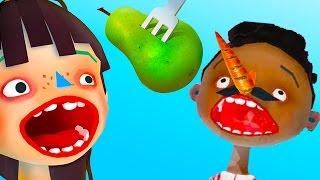 ГОТОВКА ЧЕЛЛЕНДЖ #2 - Пробуем Токсические отходы - веселая игра видео для детей #ПУРУМЧАТА