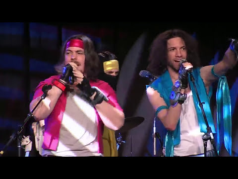 Starbomb NSP and TWRP performance at SXSW Gaming Awards 2016 Full Performance