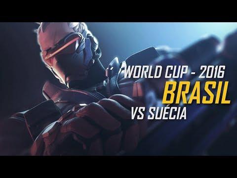 Copa Mundial de Overwatch - Brasil x Suécia (em Português)