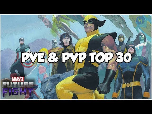 PERFECTLY BALANCED! TOP 30 BEST HEROES - Marvel Future Fight