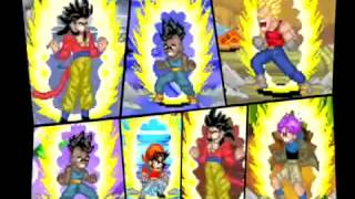Dragon Ball GT: GBA Game Transformation - Commercial (English)