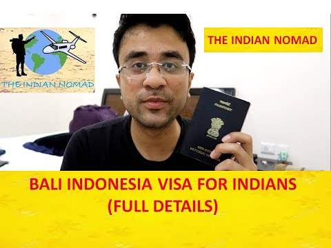 Indonesia Visa For Indian (Visa On Arrival For Indian Passport Holders) Bali Visa Process From India
