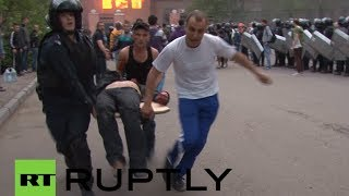 Odessa graphic video: People burnt alive, suffocated in Ukraine's Right Sector assault(At least 31 anti-government activists died in a fire at the Trade Unions House in Odessa. Some of the victims burned to death, while others suffocated from ..., 2014-05-03T06:38:36.000Z)