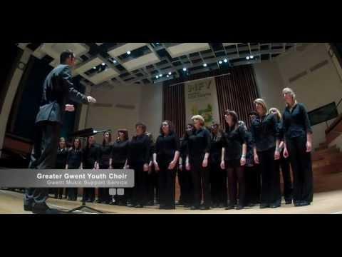 Greater Gwent Youth Choir NFMY 2012 Nicholas Steel