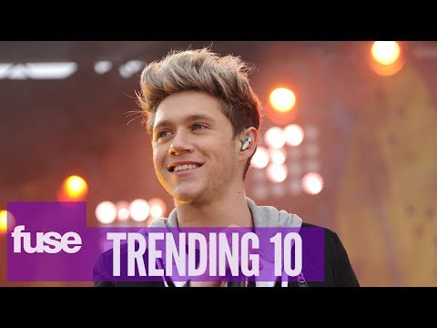 Niall of One Direction Bounces Back from Knee Surgery - Trending 10 (01/17/14)