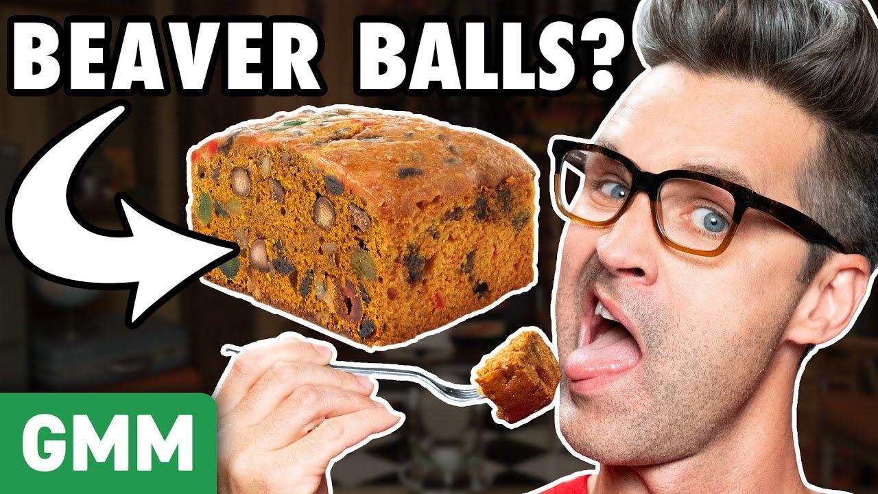 Christmas Nut (Testicle) Cake Taste Test