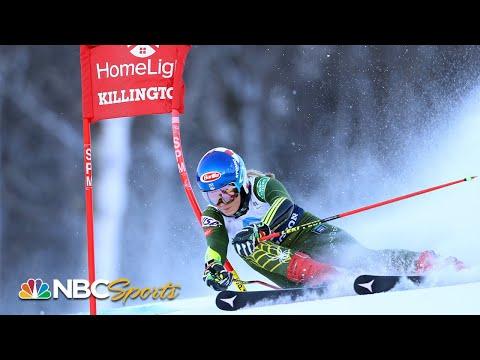 Mikaela Shiffrin finishes third in World Cup giant slalom at Killington   NBC Sports