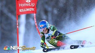 Mikaela Shiffrin Finishes Third In World Cup Giant Slalom At Killington | Nbc Sports