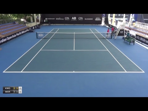 Australian Open 2018 Asia-Pacific Wildcard Play-off | Court 3 | Day 4