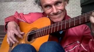 El guitarra de la plaza España - entre dos aguas