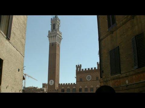 Siena Tuscany Italy Piazza del Campo, Torre del Mangia, Palazzo Pubblico, Palazzo Chigi-Saracini