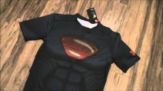 New Under Armour Alter Ego Superman Vs Batman Dawn of Justice Movie