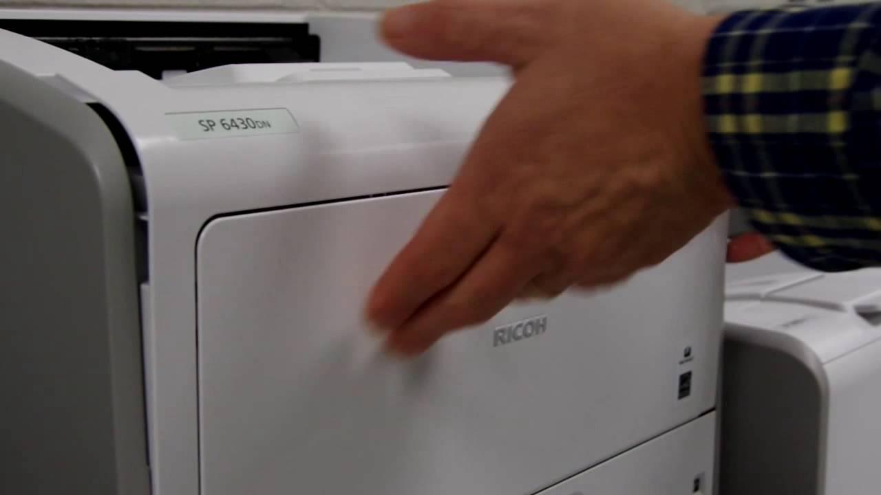 Replacing Toner and Print Cartridge: SP 3600 Series, SP 4510 Series, SP  6430DN