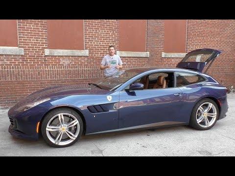 The Ferrari GTC4Lusso Is a $350,000 Hot Hatchback