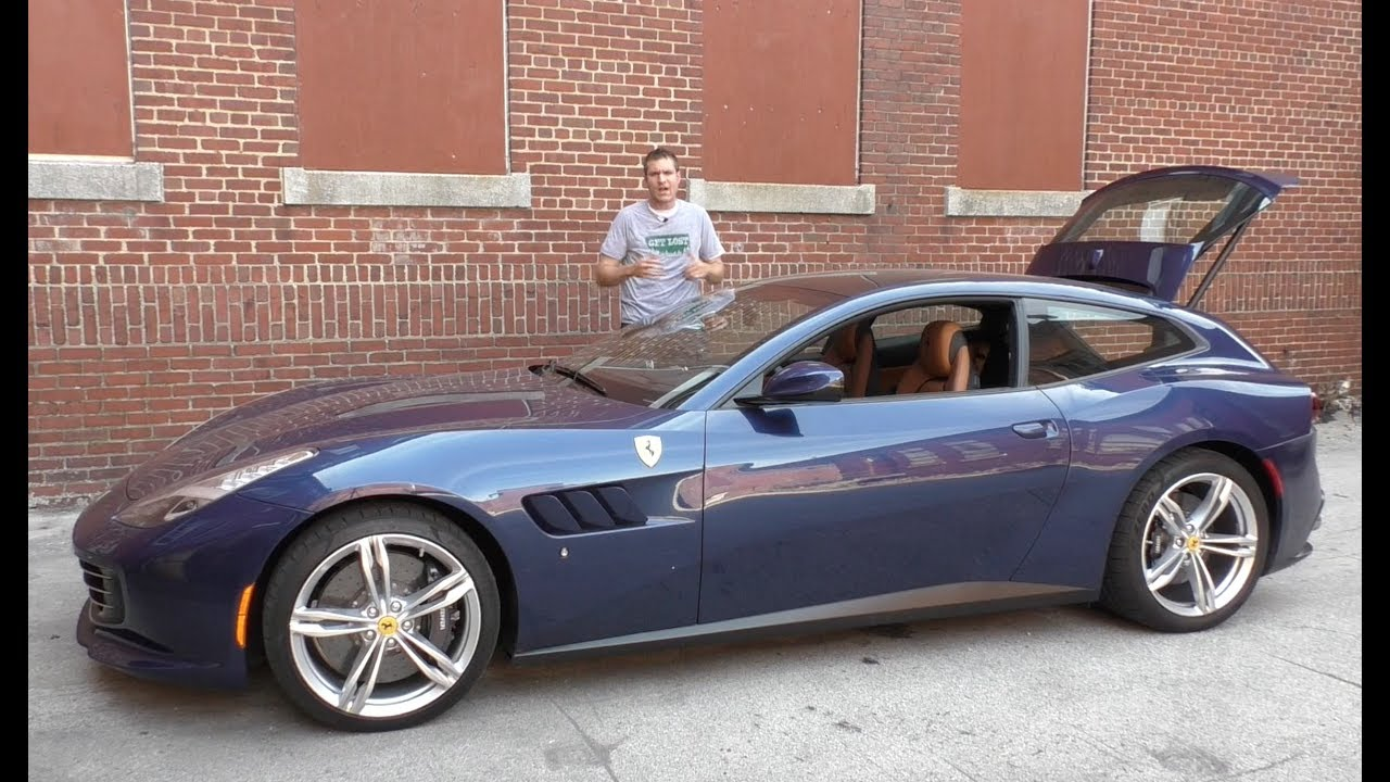 The Ferrari GTC4Lusso Is a $350,000 Hot Hatchback - YouTube