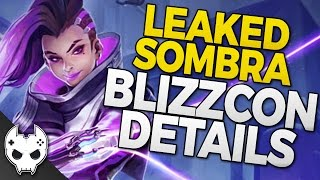 Overwatch Sombra Blizzcon Announce Info LEAKED! (Parody)