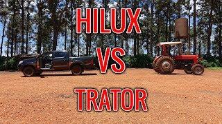CABO DE GUERRA HILUX VS TRATOR