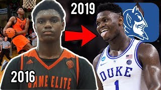 The Game That Made DUKE OFFER ZION Williamson a Scholarship!!! #1 Pick 2019 NBA Draft!