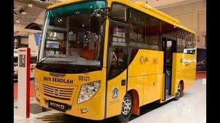 Hino bus sekolah  2016