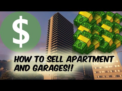 HOW TO SELL ANY APARTMENT AND GARAGES