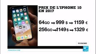 Un smic pour s'acheter le nouvel iPhone X 256 Go !