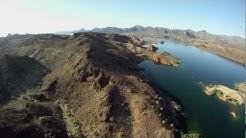 Flying over Parker and Lake Havasu AZ