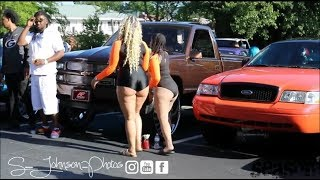 Stunt fest block party 2k19 (Donks, ladies, Gbody, Duallys,baggers, box chevy, Trucks)