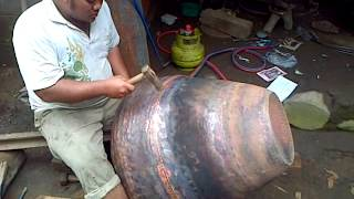 hamerred copper