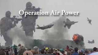 Luchtmachtdagen 2016 ** Operation Air Power (Demo) ** Incl. F35 Lightning II