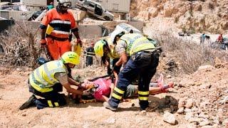 Earthquake Simulation Exercise In Gozo Malta