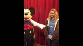 Mickey Mouse singing happy birthday