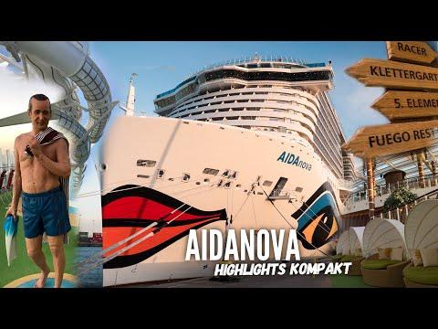 AIDAnova Schiffsportrait: Die Highlights kurz und kompakt