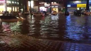 Heavy Rain in Kuwait | Kuwait Rain Farwaniya area.