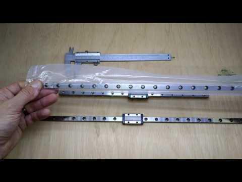 3D Printer Linear Rail Comparison - Hiwin vs Robotdigg: Part 1
